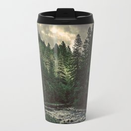 Pacific Northwest River - Nature Photography Travel Mug