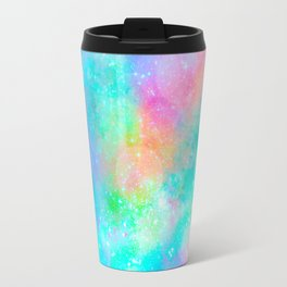 The Soul Becomes Dyed With the Colors of it's Thoughts (Galactic Watercolors) Travel Mug