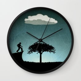 Nourishing Wall Clock