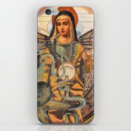 Flying Mary Deep Sea Diver  iPhone Skin