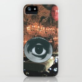 The Glorious Night Descends (I) iPhone Case