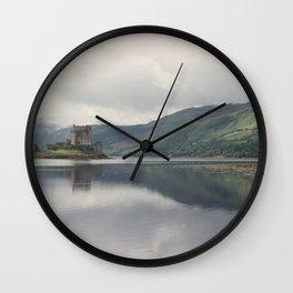 Eilean Donan Wall Clock