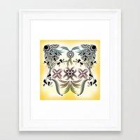 bohemian Framed Art Prints featuring Bohemian by famenxt