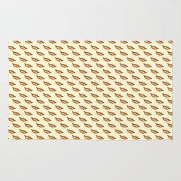 Hot-Dog Pattern Rug