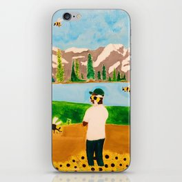 Tyler the Creator - Wolf x Flowerboy - Acrylic Painting iPhone Skin