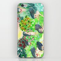 psychedelic iPhone & iPod Skins featuring Psychedelic by Risahhh