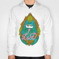 lsd Hoodies featuring Lsd party by DIVIDUS