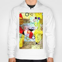 kandinsky Hoodies featuring Without incident by Kay Weber