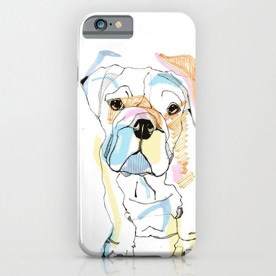 Bulldog Colour iPhone & iPod Case