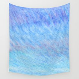 Pastel blue sky Wall Tapestry