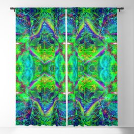 Techno Electric III (Ultraviolet) Blackout Curtain