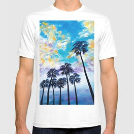 Oceanside Palm Trees T-shirt