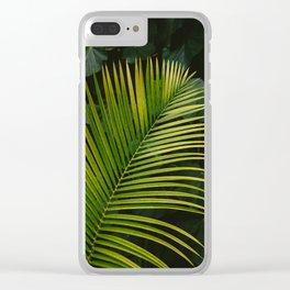 Tropical Hawaii II Clear iPhone Case