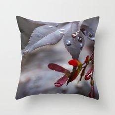 Japanese Maple Seeds II Throw Pillow