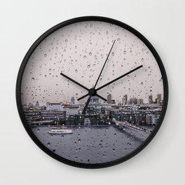 Rainy St. Paul's Wall Clock