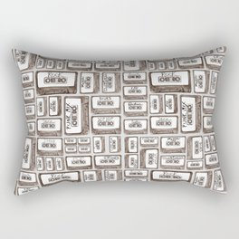 Love is a Mixtape Rectangular Pillow