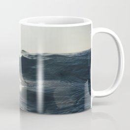 Sea surface movement at Fistral Beach, Newquay Coffee Mug