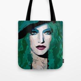 French Girl by Lika Ramati Tote Bag