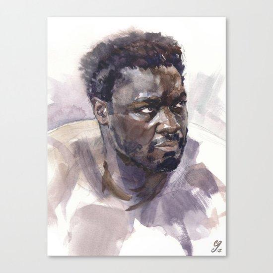 Adewale Akinnuoye-Agbaje (Mr. Eko) Canvas Print