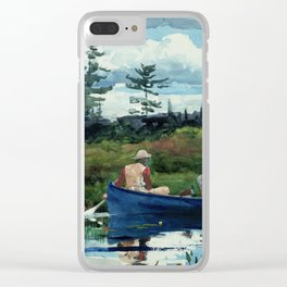 Winslow Homer - The Blue Boat, 1892 Clear iPhone Case