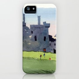 Kilchurn Castle, Scottish Highlands iPhone Case
