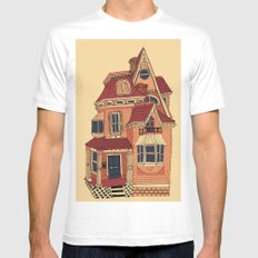 Victorian House Mens Fitted Tee White MEDIUM