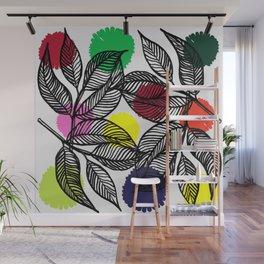 pom pom plant Wall Mural