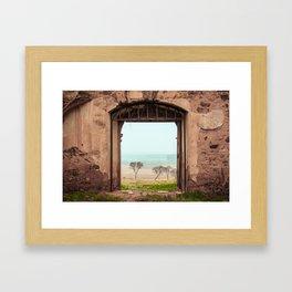 San Román del Valle Framed Art Print