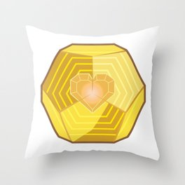 Exotic By Heart Throw Pillow