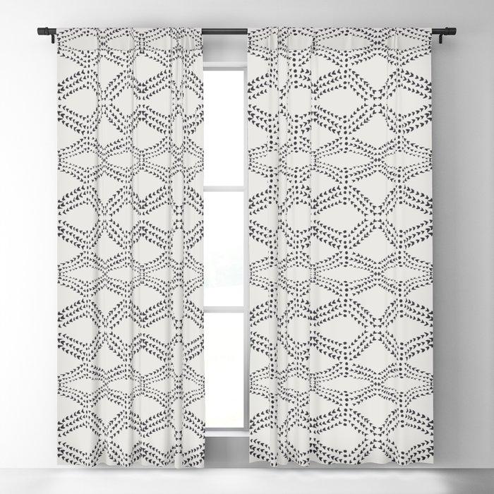 Cleo - boho diamond Blackout Curtain