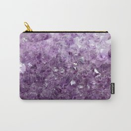 Amethyst Sparks Carry-All Pouch