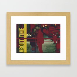 About Time Framed Art Print