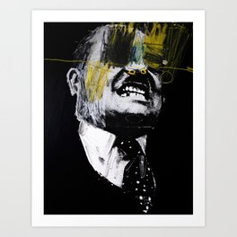 Big head 7. 2014.  Art Print