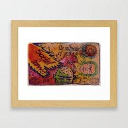 Sketchbook002 Framed Art Print