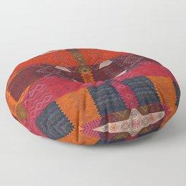 Oriental Moroccan Multicolore Rug Artwork Design D2 Floor Pillow