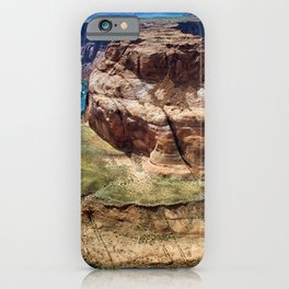 Horseshoe Bend - Grand Canyon, Colorado River View No. 1 iPhone Case