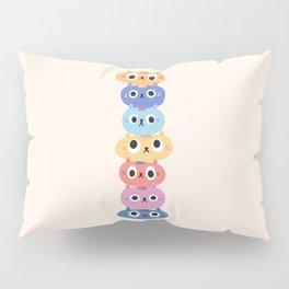 Cat Stack Pillow Sham