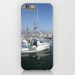 Harbor At Half Moon Bay iPhone Case
