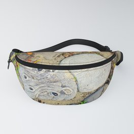 Hippo Camp Fanny Pack