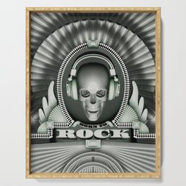 Currency of Rock / Accept no substitutes Serving Tray
