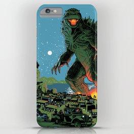 Godzilla - Blue Edition iPhone Case