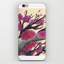 Pink Cherry Blossoms (1 of 3) iPhone Skin