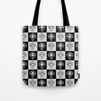jack daniels Tote Bags featuring Jack  by GeekCircus