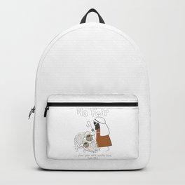 Christian Design - 'No Fear' Sheep and Good Shepherd Backpack