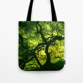 Green is the Tree Tote Bag