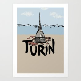 Turin Art Print