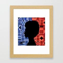 Kente Queen (USA) Framed Art Print