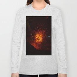 Drive Thru 24 Hrs (Color) Long Sleeve T-shirt