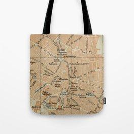 Vintage Jerez Spain Map (1913) Tote Bag
