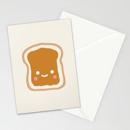 peanut butter sandwich Stationery Cards